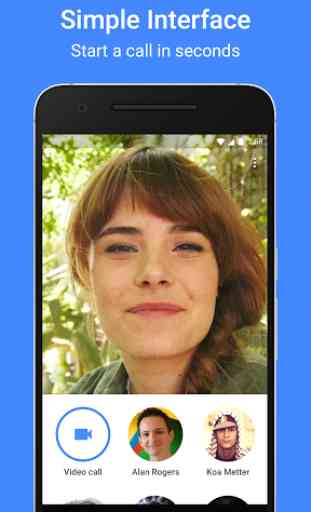 Google Duo, the simpleness of video calls - Android App - AllBestApps
