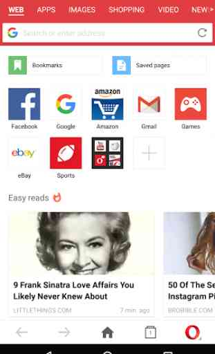 Opera Mini - fast web browser 2
