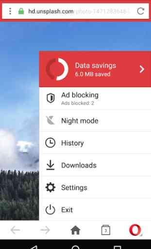 Opera Mini - fast web browser 3