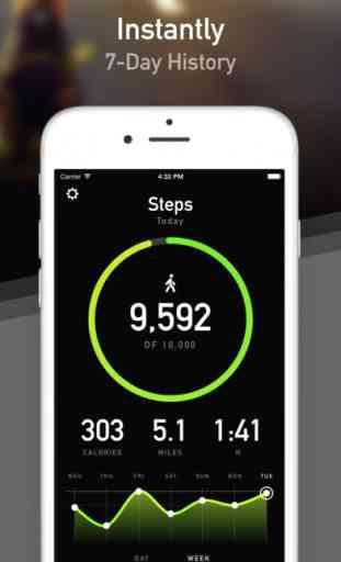 StepsApp Pedometer & Step Counter image 2