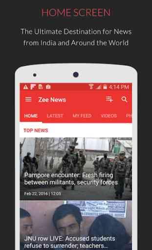 Zee News : Live News Updates 1