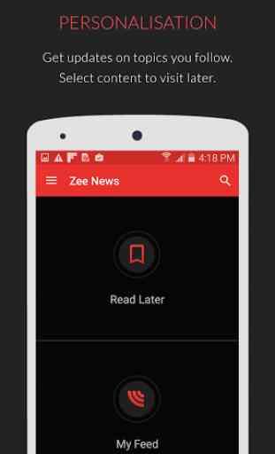 Zee News : Live News Updates 4