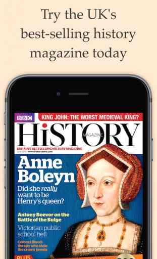 BBC History Magazine (iOS) image 1
