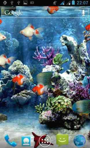Aquarium Live Wallpaper 2