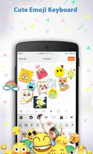 Emoji Keyboard ♥ 4