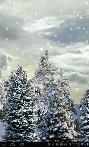 Snowfall Free Live Wallpaper 1