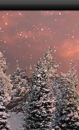 Snowfall Free Live Wallpaper 4