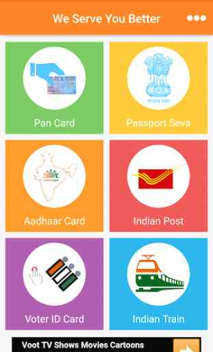 Aadhaar PAN Voter Passport PNR 1