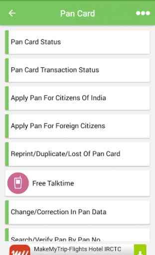 Aadhaar PAN Voter Passport PNR 2