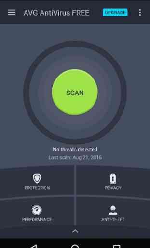 AntiVirus FREE 2016 - Android 1