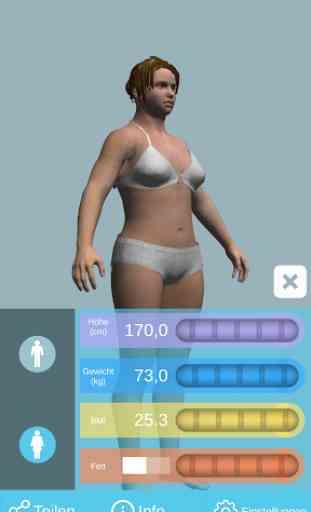 BMI 3D - Body Mass Index in 3D 1