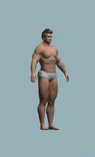 BMI 3D - Body Mass Index in 3D 2