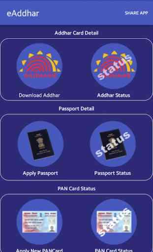 e-Aadhaar,Passport, PAN Card 1