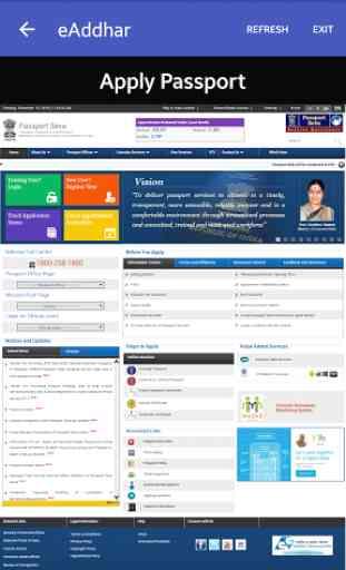 e-Aadhaar,Passport, PAN Card 3