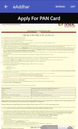 e-Aadhaar,Passport, PAN Card 4