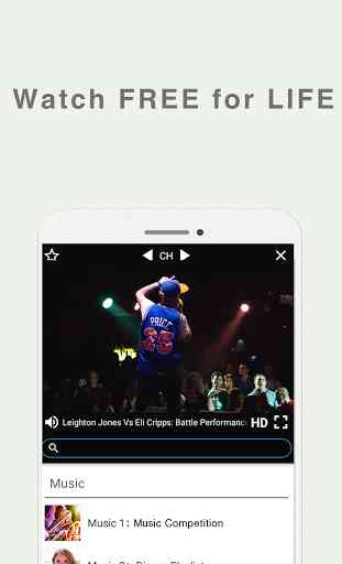 Free TV+Music App(Download Now 4