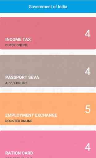 Gov of India Sites 3