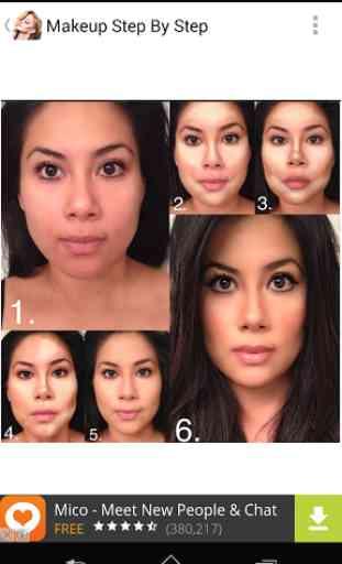 Makeup Step By Step 2