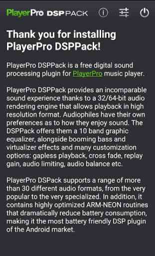 PlayerPro DSP pack 1