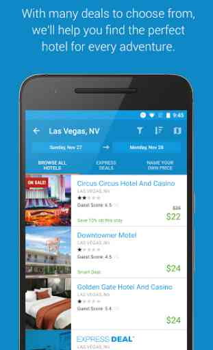 Priceline Hotel, Flight & Car 1