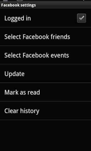 Smart extension for Facebook 3