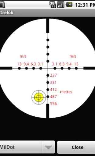 Strelok. Ballistic calculator 2