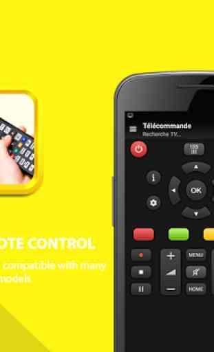 Universal remote control tv 1