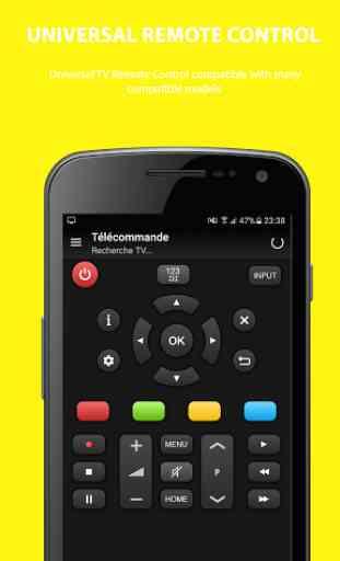 Universal remote control tv 3