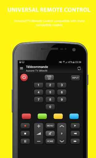 Universal remote control tv 4