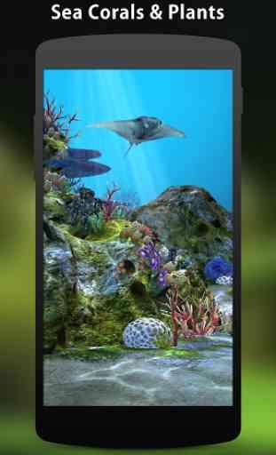 3D Aquarium Live Wallpaper HD 2