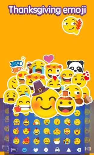 Emoji Keyboard:Thanksgiving 1