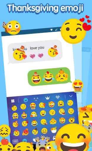 Emoji Keyboard:Thanksgiving 2