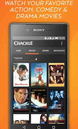 Crackle - Free TV & Movies 3