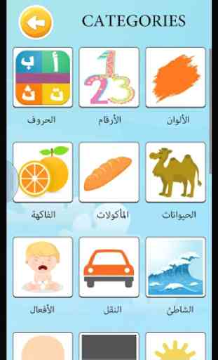 Learn arabic vocabulary game 2