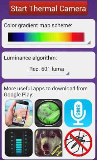 Thermal Camera HD Effect Simulator image 2