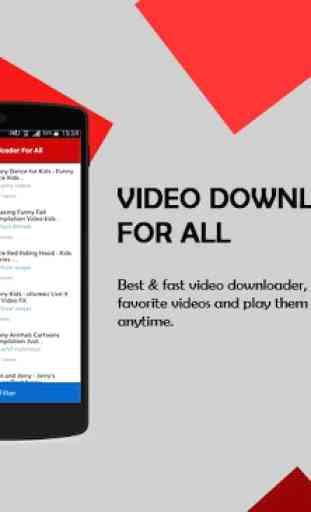 Video Downloader For All 1