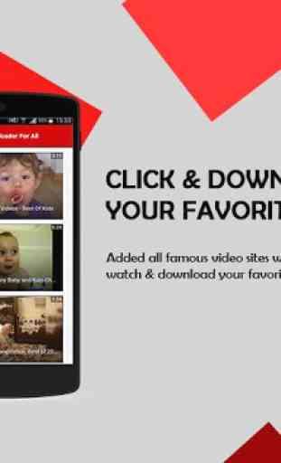 Video Downloader For All 2