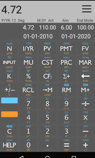 10bii Financial Calculator 2
