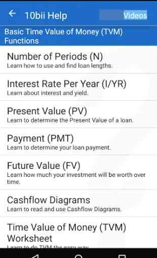 10bii Financial Calculator 4