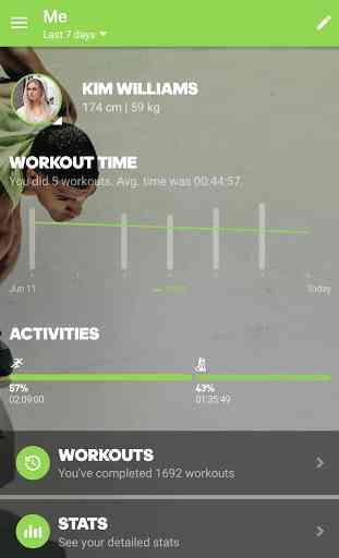 adidas train & run 4