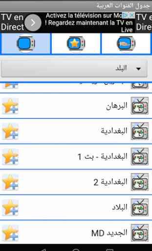 Arabic channels schedule 4