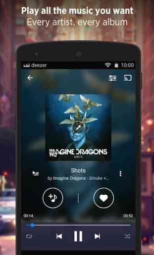 Deezer - Songs & Music Player 1