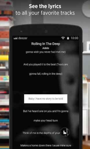 Deezer - Songs & Music Player 4