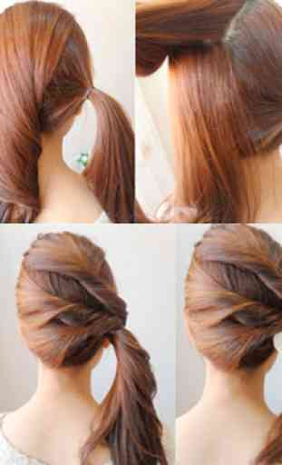 Easy Hairstyles 4