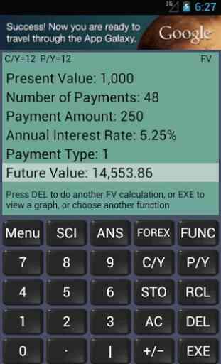 Financial Calculator 1