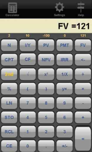Financial Calculator Trial 1
