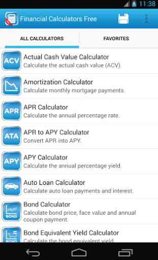 Financial Calculators Free 1