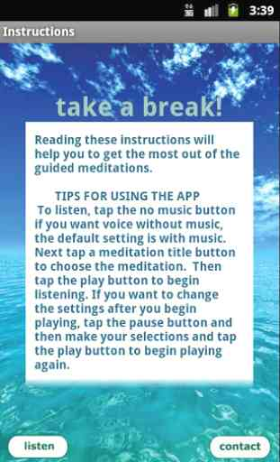 Free Meditation - Take a Break 2