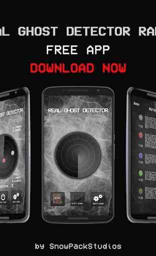 Real Ghost Detector - Radar 1