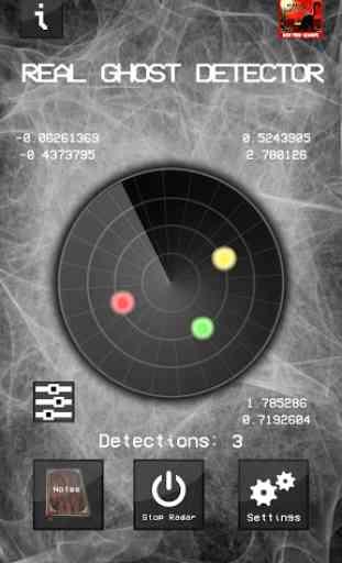 Real Ghost Detector - Radar 4